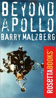 BEYOND APOLLO by Barry Malzberg