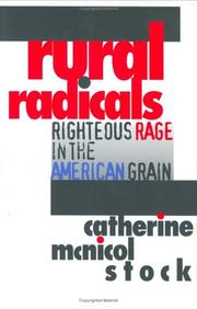 RURAL RADICALS by Catherine McNicol Stock