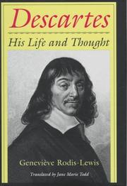 DESCARTES by Genevieve Rodis-Lewis