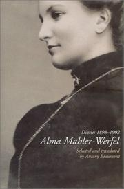 THE DIARIES by Alma Mahler-Werfel