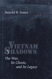 VIETNAM SHADOWS by Arnold R. Isaacs