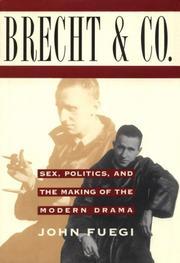 BRECHT & COMPANY by John Fuegi