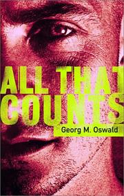 ALL THAT COUNTS by Georg Oswald