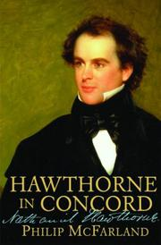 HAWTHORNE IN CONCORD by Philip McFarland