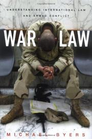 WAR LAW by Michael Byers