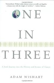 ONE IN THREE by Adam Wishart