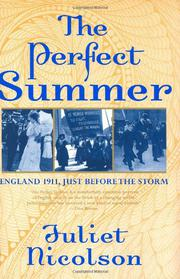 THE PERFECT SUMMER by Juliet Nicolson