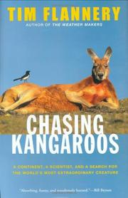 Book Cover for CHASING KANGAROOS