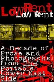 LOW RENT by Kurt Hollander