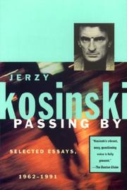 PASSING BY by Jerzy Kosinski