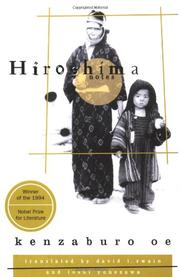 HIROSHIMA NOTES by Kenzaburo Oe