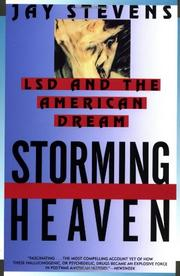 STORMING HEAVEN: LSD and the American Dream by Jay Stevens