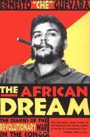 Cover art for THE AFRICAN DREAM