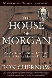 Book Cover for THE HOUSE OF MORGAN