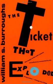 Book Cover for THE TICKET THAT EXPLODED