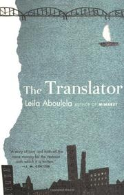 Cover art for THE TRANSLATOR