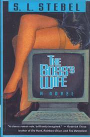 THE BOSS'S WIFE by S.L. Stebel
