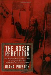 Cover art for THE BOXER REBELLION