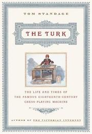 THE TURK by Tom Standage