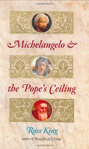 Cover art for MICHELANGELO AND THE POPE'S CEILING