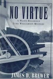 NO VIRTUE by James D. Brewer