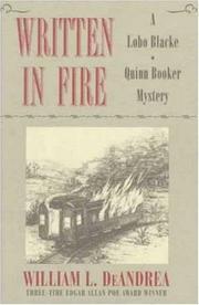 WRITTEN IN FIRE by William L. DeAndrea