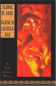 DEATH IN LACQUER RED by Jeanne M. Dams