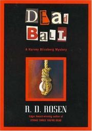 DEAD BALL by R.D. Rosen