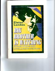 BIG BROTHER IS WATCHING by Elaine Landau