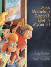Book Cover for MISS MALARKEY DOESN'T LIVE IN ROOM 10