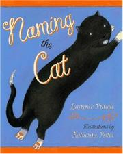 Cover art for NAMING THE CAT