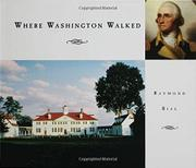 WHERE WASHINGTON WALKED by Raymond Bial