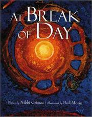AT BREAK OF DAY by Nikki Grimes