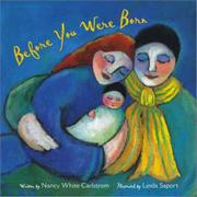 BEFORE YOU WERE BORN by Nancy White Carlstrom