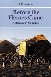 BEFORE THE HEROES CAME by T.H. Baughman