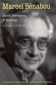 Cover art for JACOB, MENAHEM, MIMOUN