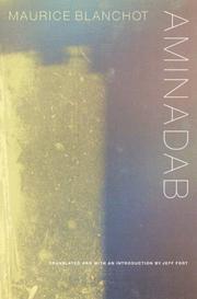 AMINADAB by Maurice Blanchot
