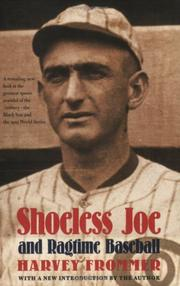 Cover art for SHOELESS JOE AND RAGTIME BASEBALL