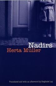 NADIRS by Herta Müller
