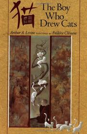 Cover art for THE BOY WHO DREW CATS