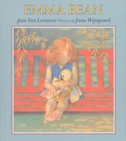 EMMA BEAN by Jean Van Leeuwen