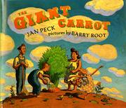 Cover art for THE GIANT CARROT