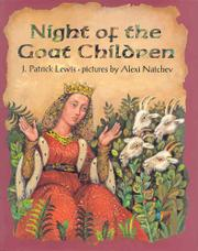 NIGHT OF THE GOAT CHILDREN by J. Patrick Lewis