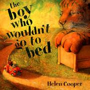 Book Cover for THE BOY WHO WOULDN'T GO TO BED
