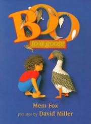 BOO TO A GOOSE by Mem Fox