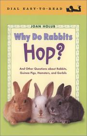Cover art for WHY DO RABBITS HOP?