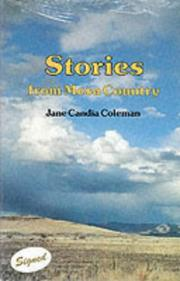 STORIES FROM MESA COUNTRY by Jane Candia Coleman