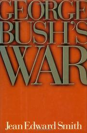 Cover art for GEORGE BUSH'S WAR