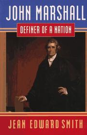 JOHN MARSHALL by Jean Edward Smith