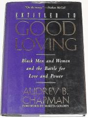 ENTITLED TO GOOD LOVING by Audrey B. Chapman